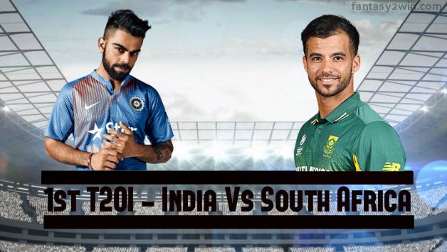 Ind vs SA 1st t20
