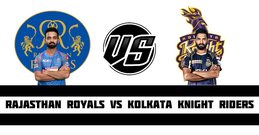Rajasthan Royals vs KKR