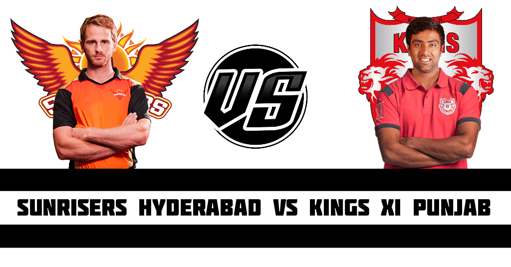 Sunrisers Hyderabad vs Kings XI Punjab