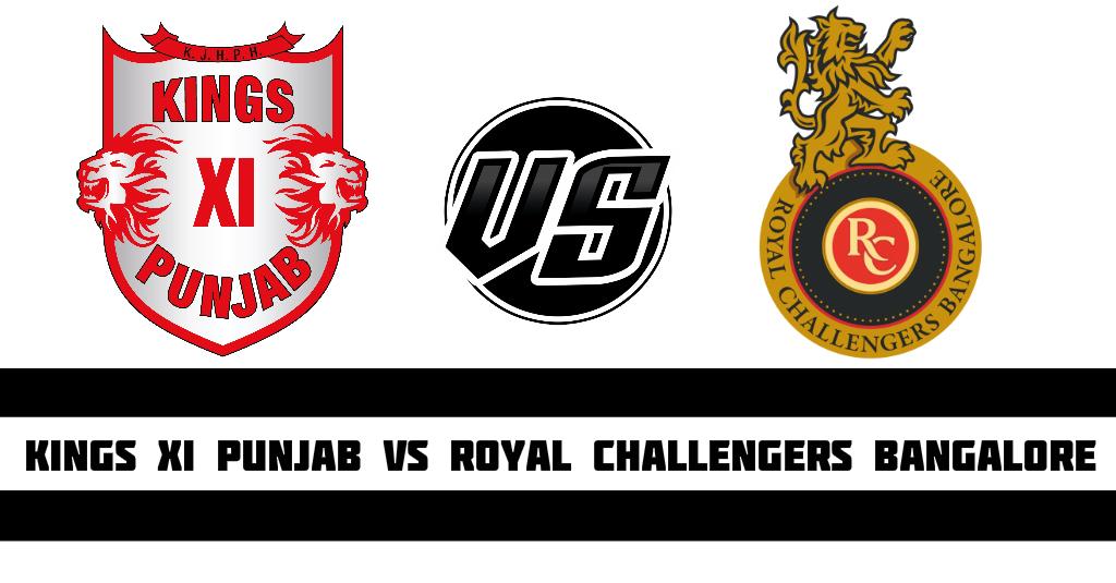 Kings XI Punjab Royal Challengers Bangalore