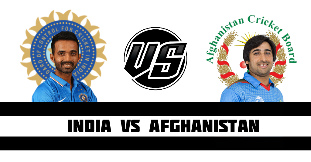 India vs Afghanistan Fantasy Cricket Preview