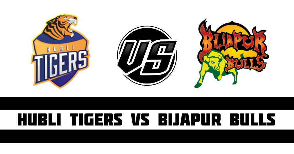 Hubli Tigers vs Bijapur Bulls Fantasy Cricket Preview(Dream11)