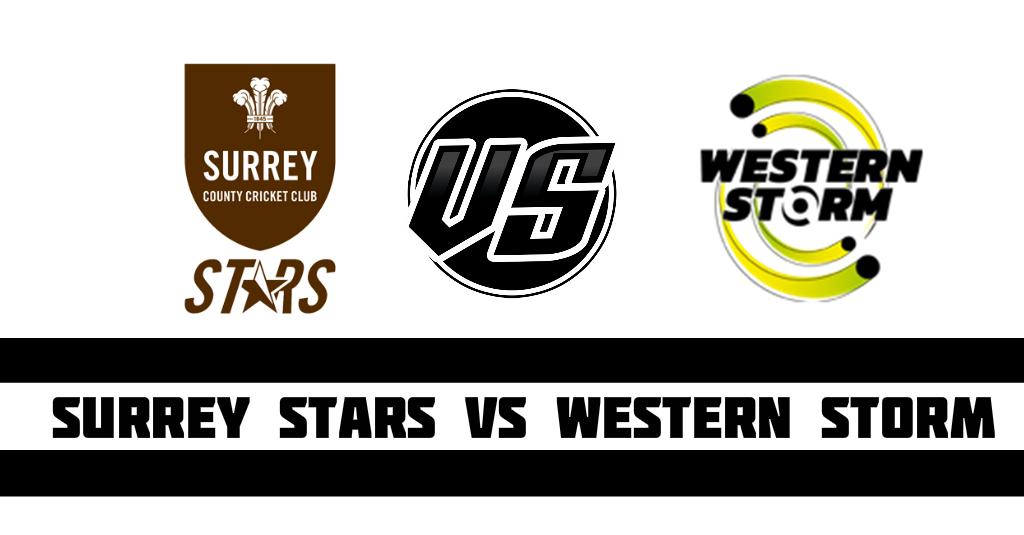 Surrey Stars vs Western Storm